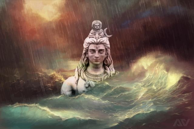 War between lord shiva lord rama vedics lord shiva river ganga voltagebd Gallery