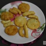 Baked and Fried Nimki Recipe