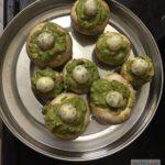Creamy Palak (Spinach) Mushroom Recipe