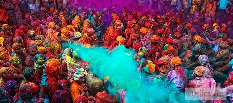 Holi Festival Stories Vedics