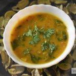 Palak Dal (Spinach Lentil) Recipe