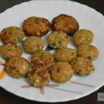Fried and Non Fried Sabudana (Sago) Vada Recipe