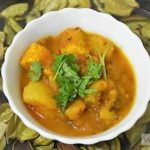Potato Cottage Cheese Curry Recipe Without Onion-Garlic