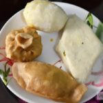 Rice And Wheat Flour Pittha Recipe