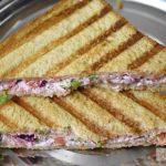 Vegetable Curd Sandwich Recipe
