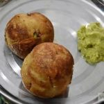 Non-fried Curd And Veggies Bread Roll Recipe