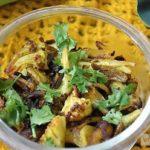 Aloo Gobi (Potato-Cauliflower) Bhujiya Recipe