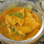Gram flour Cheela Curry Recipe