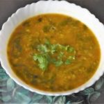 Spinach And Gram Lentils Recipe (Palak Chana dal)