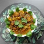 Spicy Brown Chickpea Chola Recipe
