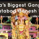 India's Biggest Ganpati | Khairatabad Ganesh Utsav | Ganesh Chaturthi Hyderabad