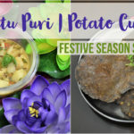 Kuttu Puri & Aloo (Buckwheat flour Puri & Potato curry) | Festive Season Special