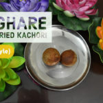 Singhare ke Aata ki Non Fried Kachori (Water Caltrop/Water Chestnut Kachori)