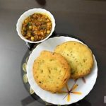 Dhuska Recipe With Yellow Pea Curry (Traditional way)